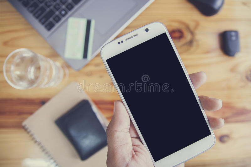 mobile stock afbeelding