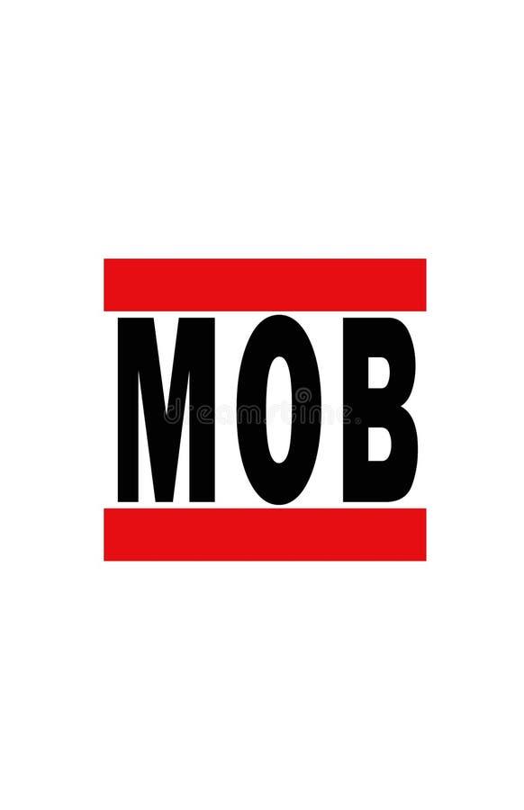 Mobile, Alabama illustration de vecteur