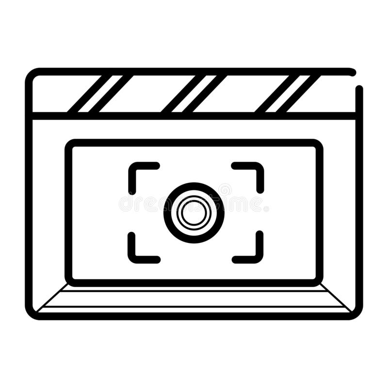 Mobile camera icon vector illustration