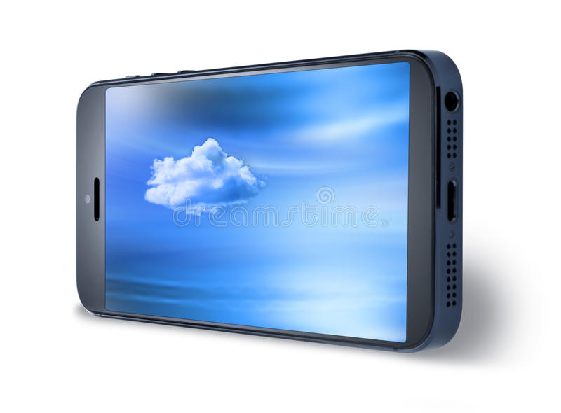 Download Mobile Cell Phone Sky Isolated Stock Photo - Image: 32352438