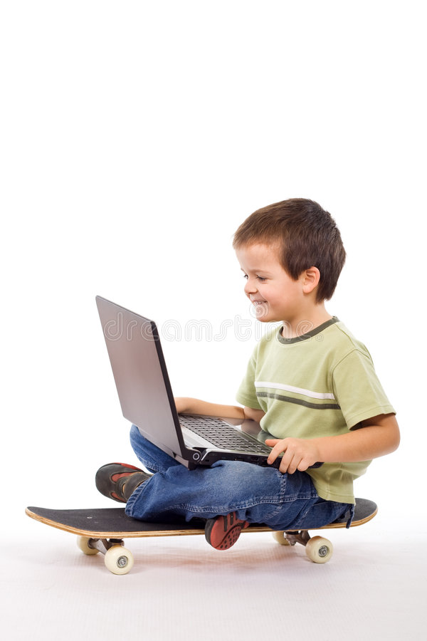 Download Mobile computing stock image. Image of preschool, casual - 8087347