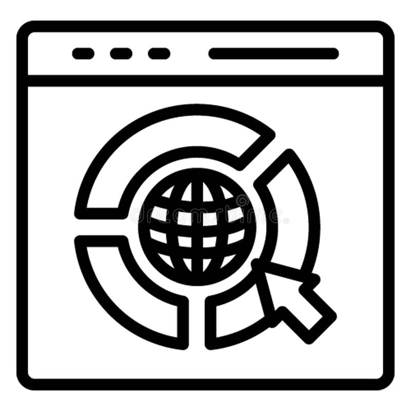 Mobile configuration, online maintenance . Vector icon which can easily modify or edit stock illustration