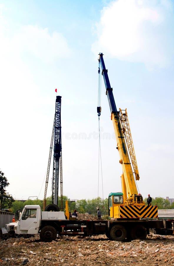 Download Mobile crane stock image. Image of crane, house, apartment - 13943943