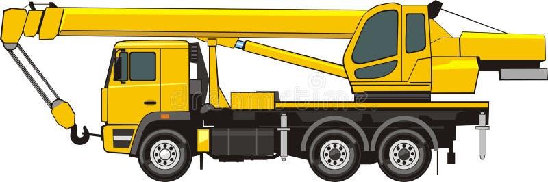 Power Wheels Crane : Mobile crane stock vector illustration of power wheel