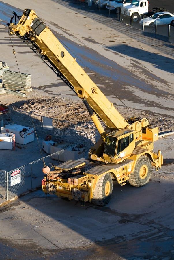Mobile crane. royalty free stock photo
