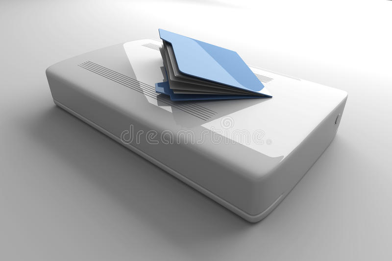 Download Mobile Data stock illustration. Image of copy, device - 18370936