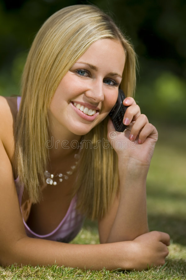 Mobile di estate fotografia stock libera da diritti