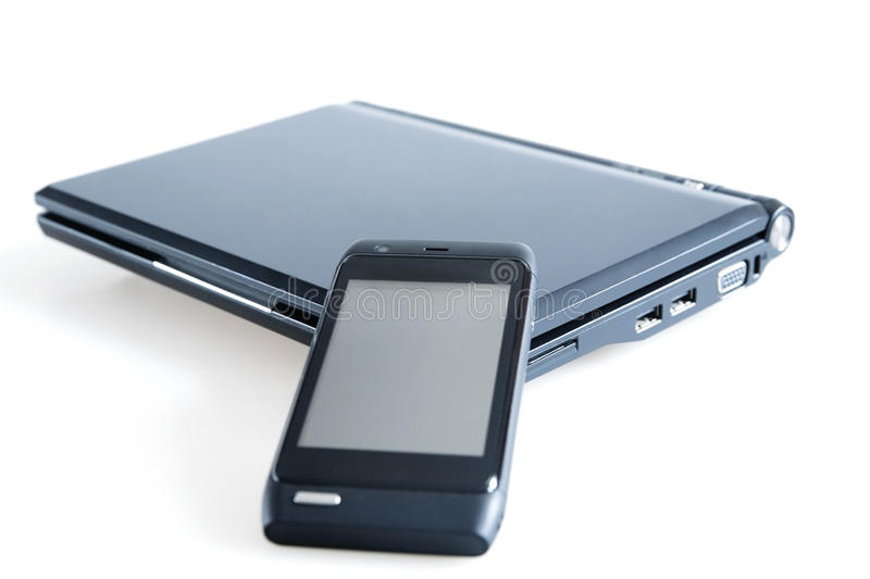 Mobile Gadgets Royalty Free Stock Photography