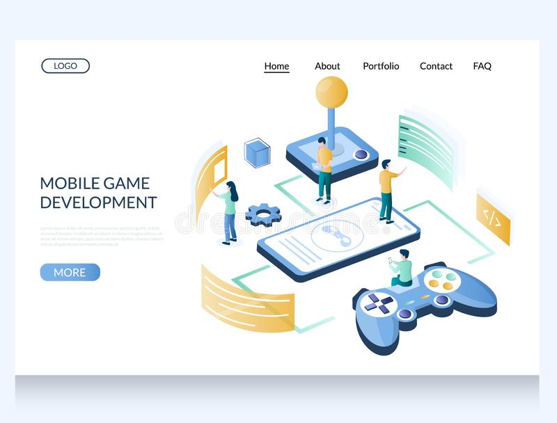 This image has an empty alt attribute; its file name is mobile-game-development-vector-website-landing-page-design-template-web-site-gaming-industry-isometric-concept-164131528.jpg