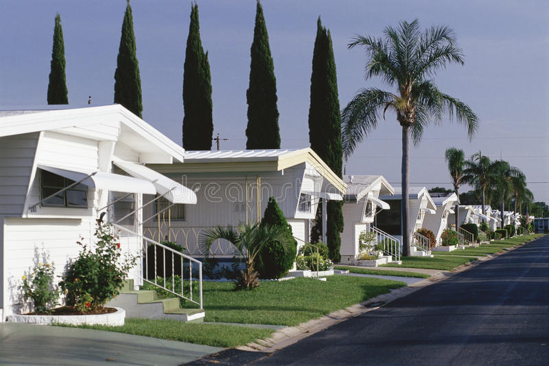 Download Mobile Home Park stock photo. Image of rocky, streets - 23147654
