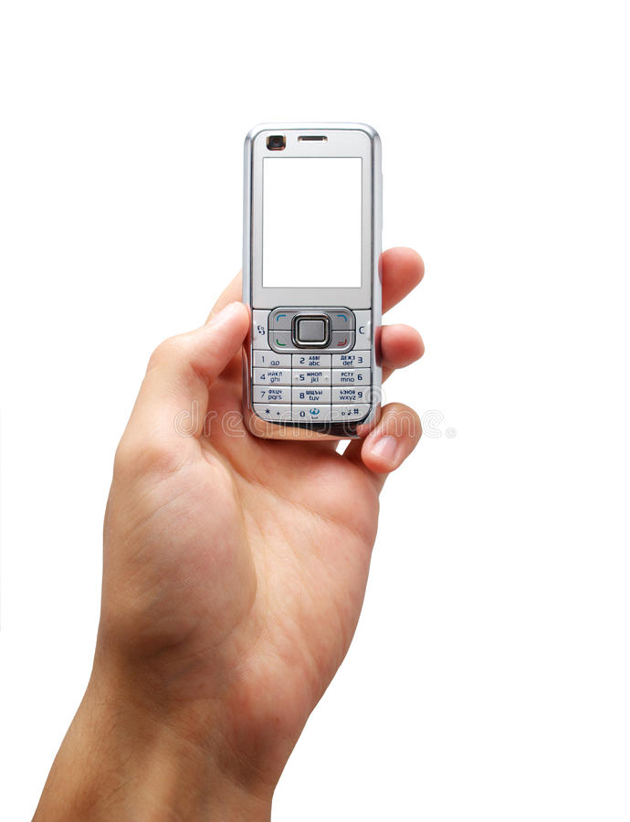 Free Mobile In Hand Stock Photo - 12032460