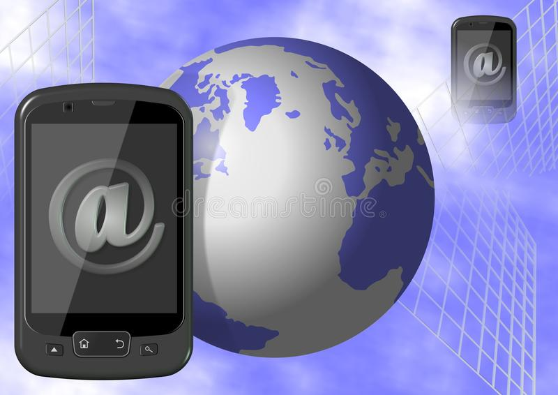 Mobile internet stock photography