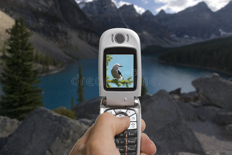 mobile kamery. zdjęcia stock