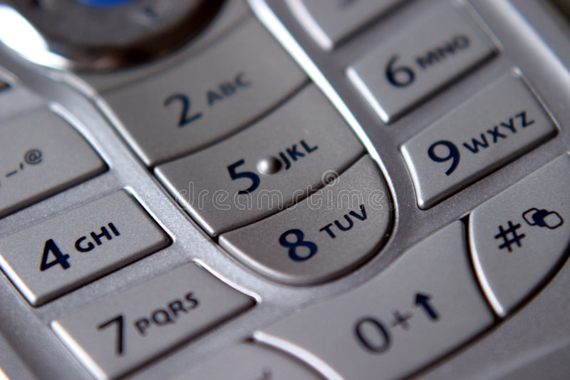 Download Mobile Keypad stock image. Image of message, airtime, cellular - 17605