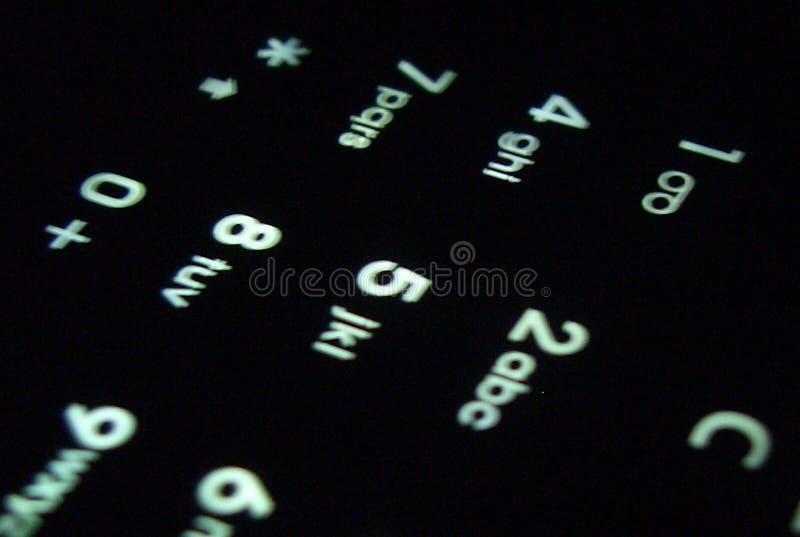 mobile klawiaturowa zdjęcie royalty free