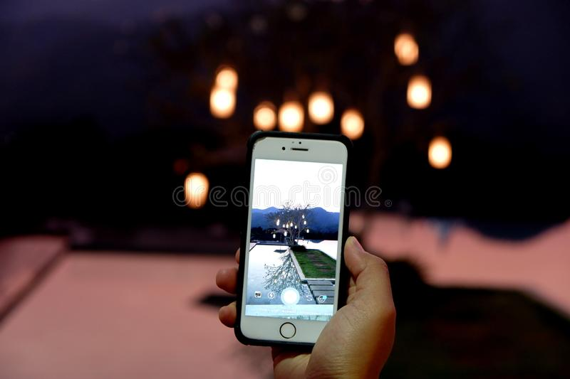Mobile with life royalty free stock photos
