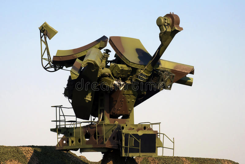 Download Mobile military radar-3 stock photo. Image of structure - 26844466