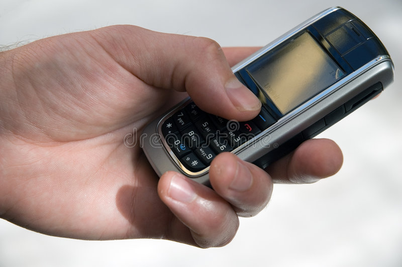 Mobile phone royalty free stock photography