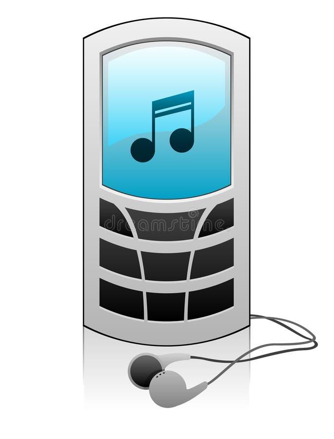 Download Mobile phone stock illustration. Image of media, electronics - 16049939