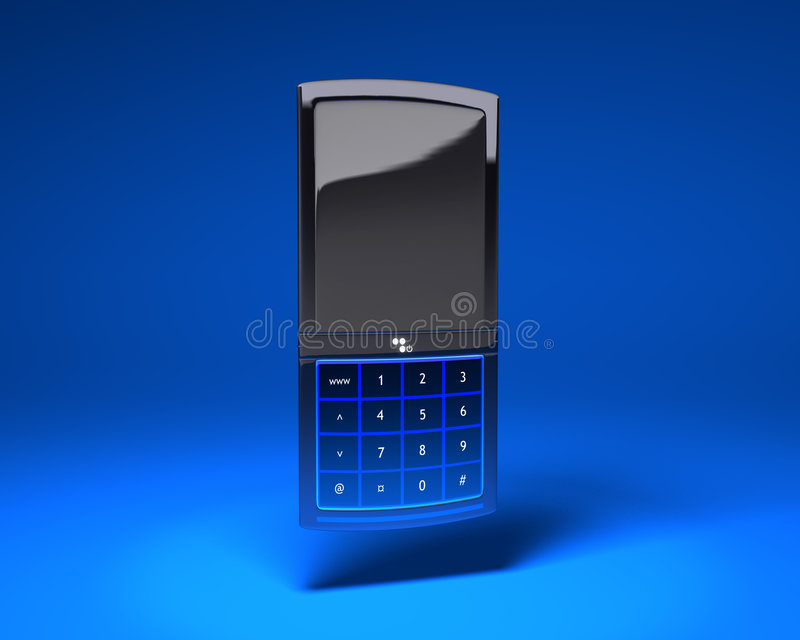 Download Mobile phone stock illustration. Image of cell, device - 1731837