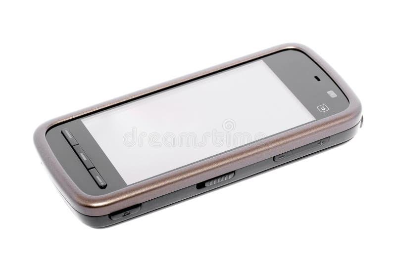 Mobile phone. Touchscreen mobile phone on white background. Nokia stock photos