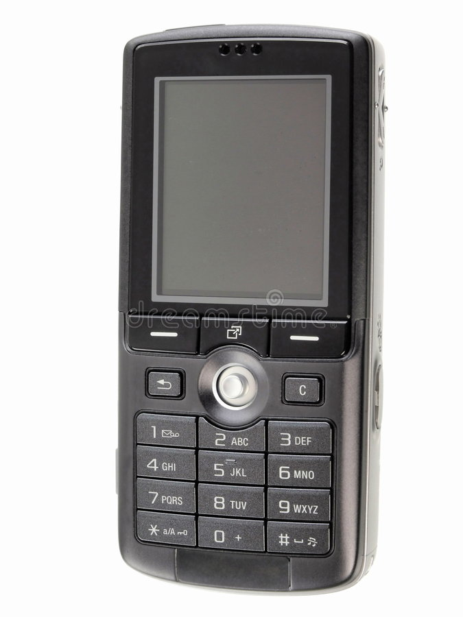 Mobile phone. K-750, Business mobile phone isolated royalty free stock photos