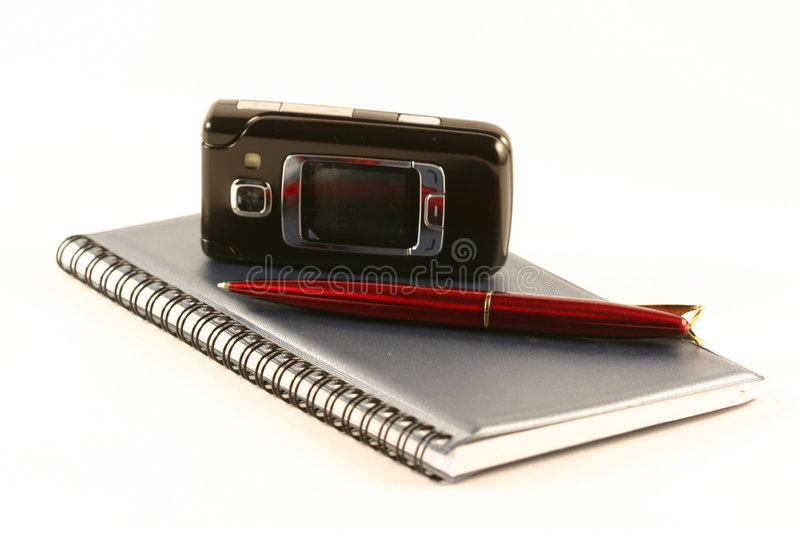 Download Mobile phone stock photo. Image of occupation, documents - 2366828