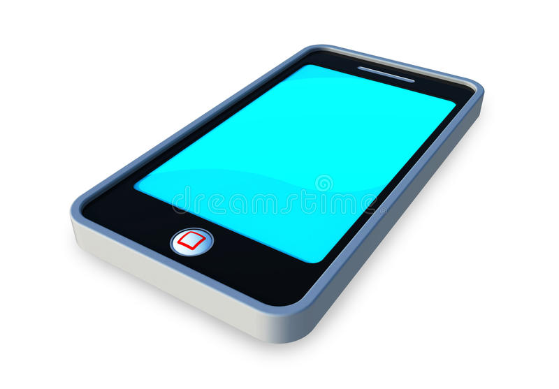 Download Mobile phone stock illustration. Image of cell, concept - 23777662