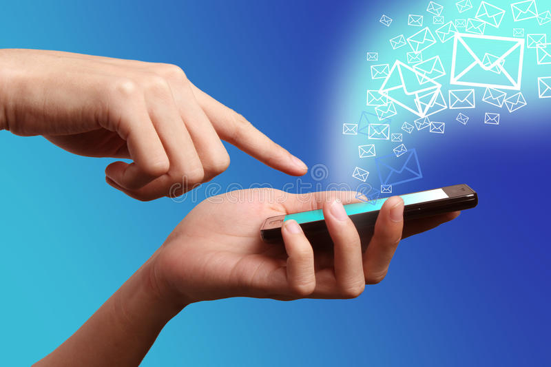 Download Mobile phone stock image. Image of global, communication - 24145227