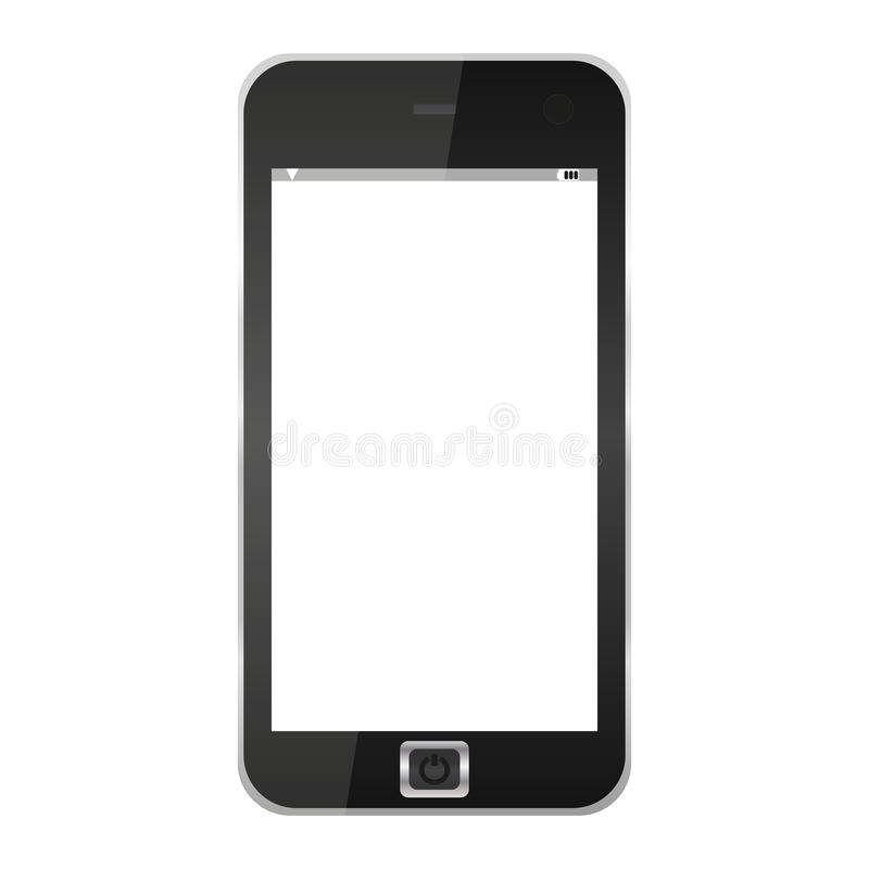 Download Mobile phone stock vector. Illustration of screen, cell - 25803285