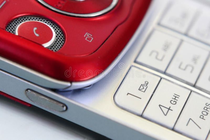 Download Mobile phone stock photo. Image of phone, silver, electronics - 9556504