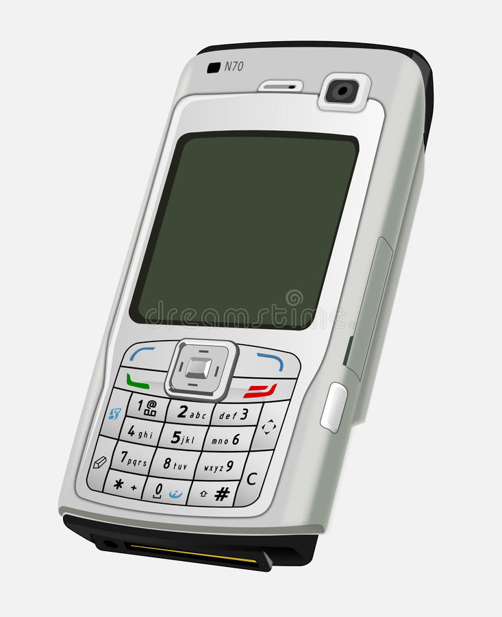 Mobile Phone, Communication Device, Feature Phone, Gadget stock photography
