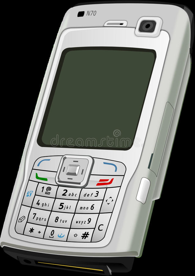 Mobile Phone, Communication Device, Gadget, Feature Phone royalty free stock images