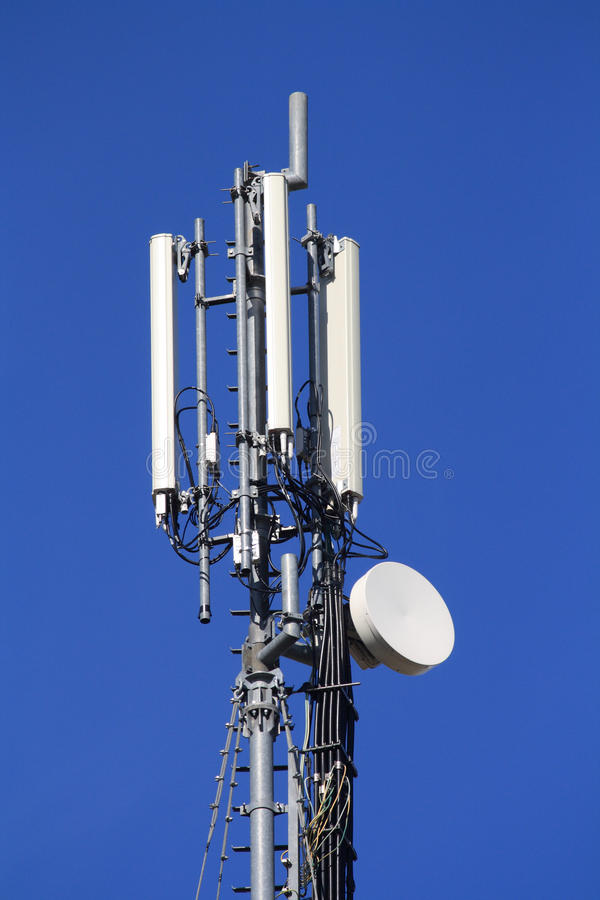 Download Mobile Phone Communication Repeater Stock Image - Image: 24449851