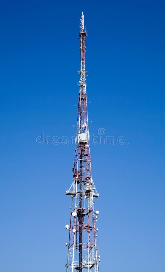 Download Mobile Phone Communication Tower Stock Images - Image: 24624494