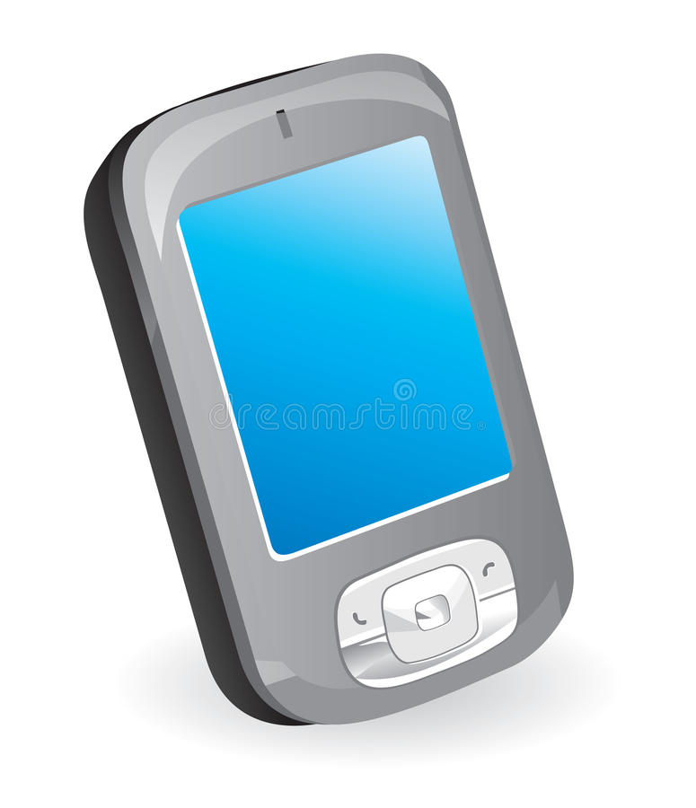 Mobile phone (communicator). Vector illustration vector illustration
