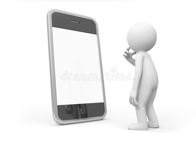 Mobile phone vector illustration