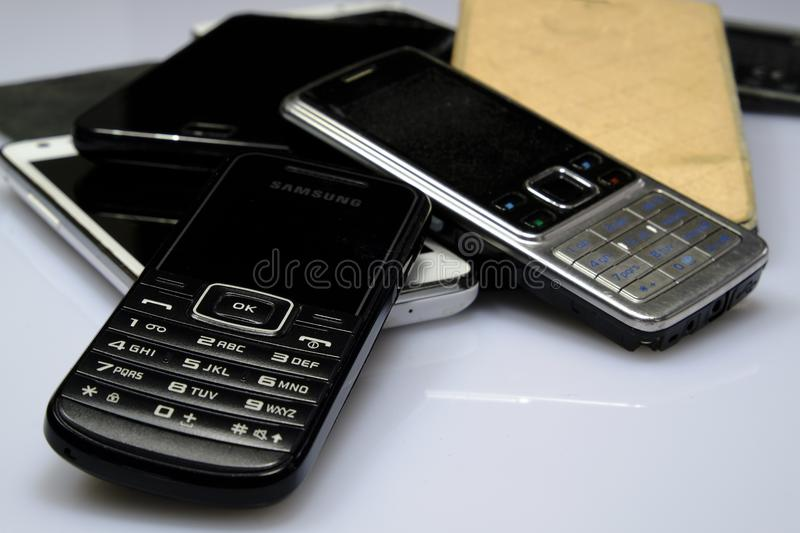 Mobile Phone, Feature Phone, Communication Device, Gadget royalty free stock images