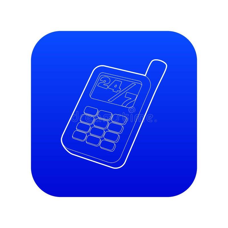 Phone Icon Blue Stock Illustrations – 34,869 Phone Icon Blue