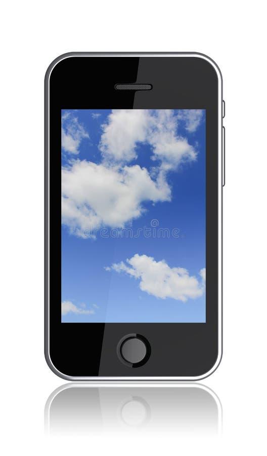 Download Mobile phone. Pda stock illustration. Image of background - 23158022