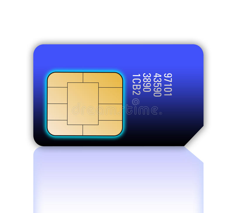 Download Mobile Phone Sim Card Royalty Free Stock Images - Image: 27016939