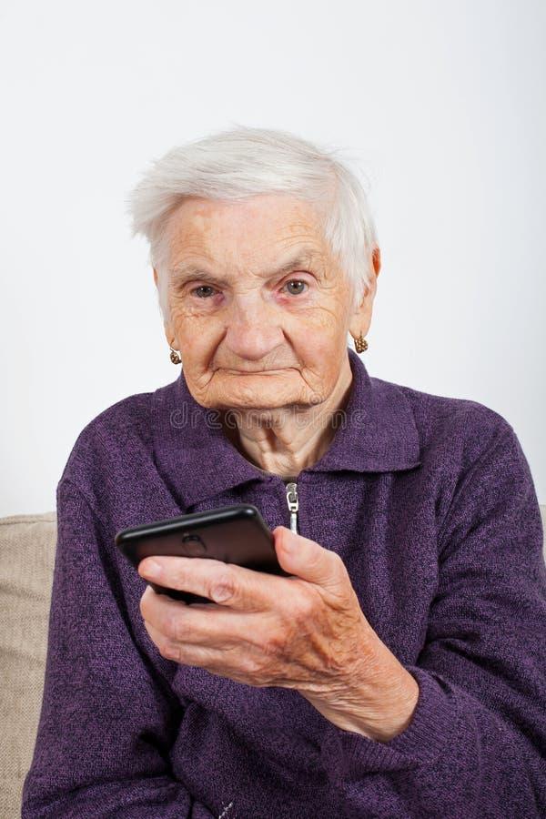 mobile phone talking στοκ φωτογραφία