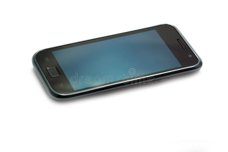 Mobile phone with touch screen royalty free stock images
