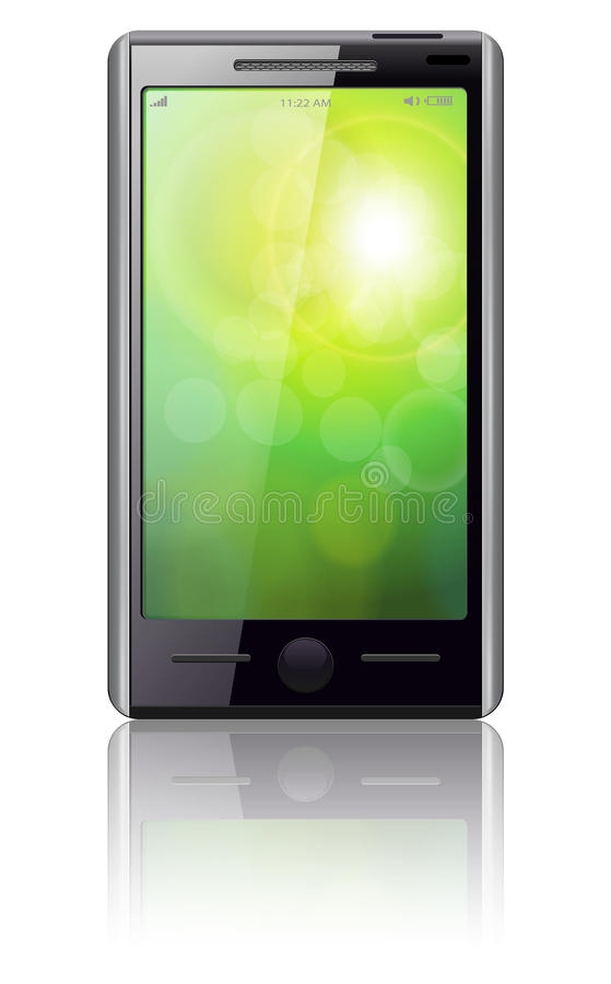 Download Mobile phone vector. stock vector. Illustration of cellphone - 16737005