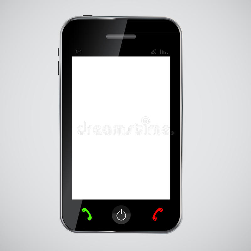Download Mobile Phone Vector Illustration Stock Vector - Image: 31551652