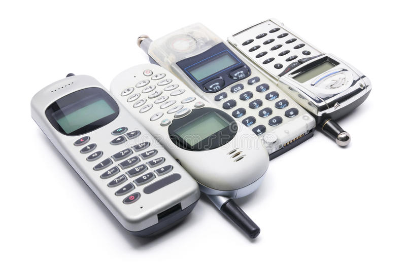 Download Mobile Phones stock photo. Image of wireless, telecommunication - 16034880