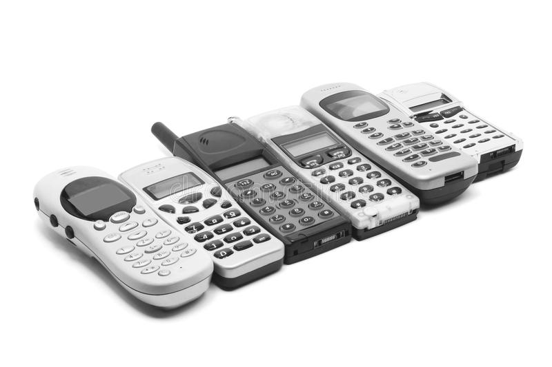 Download Mobile Phones stock photo. Image of background, cutout - 17537574