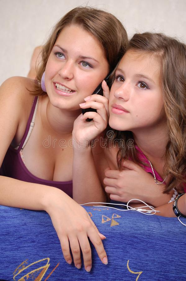 Download Mobile phones stock image. Image of cheerful, cellular - 19931383