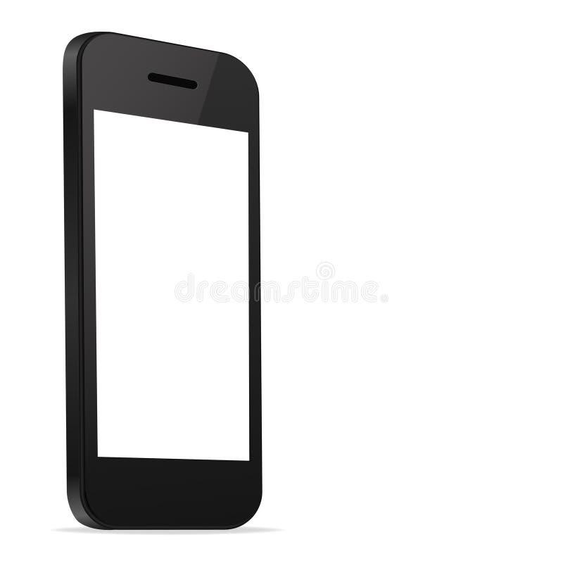 Mobile Smart Phone new Technology modern blank scr royalty free illustration
