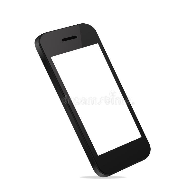 Mobile Smart Phone new Technology modern blank scr stock illustration